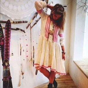 FreePeople BoHo Dress Midi NWT